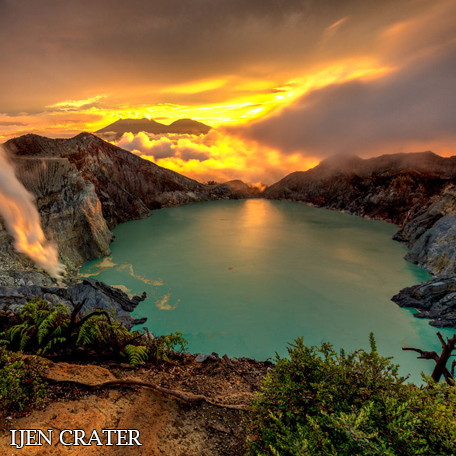 Ijen Crater Destination - Ijen Trails